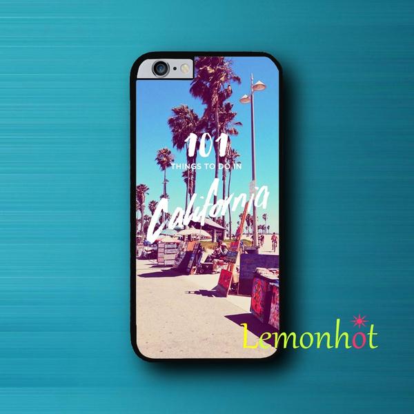 Cool Pretty California Quote Palm Sea Ocean Vintage Wallpaper Cute Iphone 5s 5c 5 6 6s Plus 4 4s Case Ipod Touch 5 Case Wish