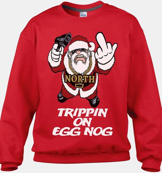 wish funny eggnog sweater funny ugly christmas sweater tacky christmas sweaters cool christmas sweaters christmas sweater party random shirt