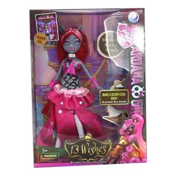 Made Monster high 13 wishes dolls think