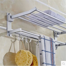 Bathroom, Towels, folding, Aluminum