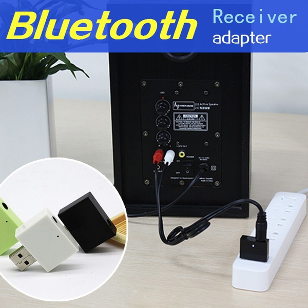 USB bluetooth audio aux receiver 3.5mm speakers music receptor For car media