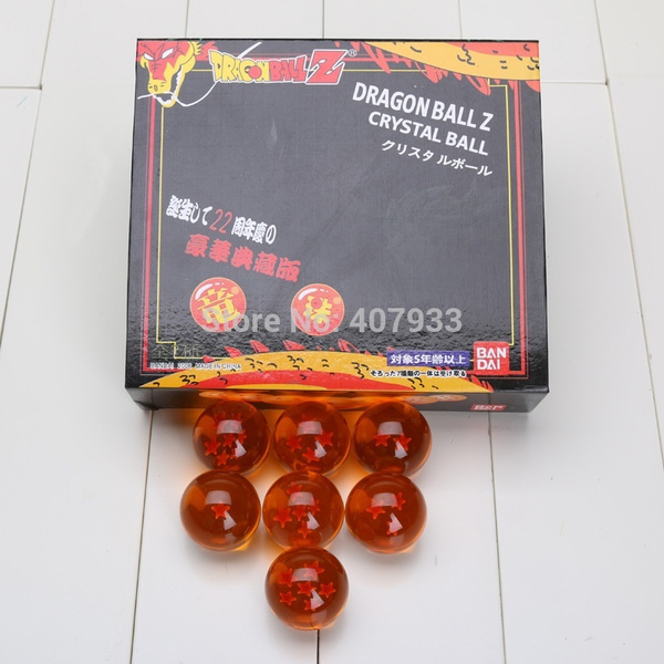 wish 1set 3 5cm 4 3cm 5 7cm 7 6cm dragon ball z new in box 7