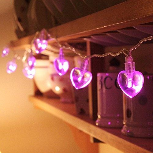 Pink Heart Novelty Led