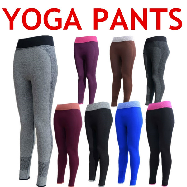 c23585e71b Fitness Yoga Pants Women Ropa Deportiva Mujer Gym Mallas Mujer Deportivas  Calzas Deportivas Mujer Legging Para Academia Mulheres | Wish