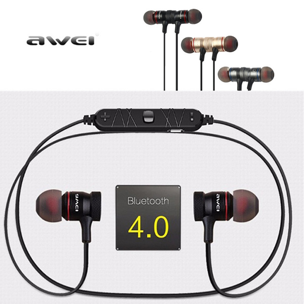 Picture of Awei A920bl Smart Wireless Bluetooth 4.0 Sports Stereo Earphone Noise Reduction With Mic