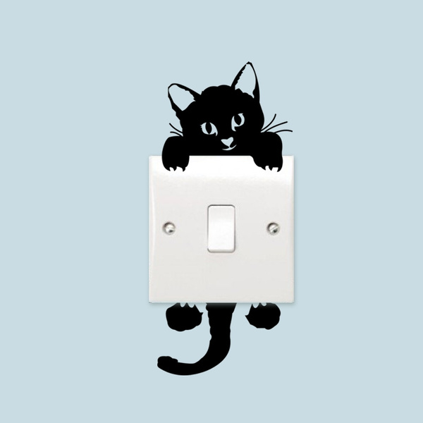 cute, Home Decor, Wall Design Stickers, livingroombedroomremovablewallsticker