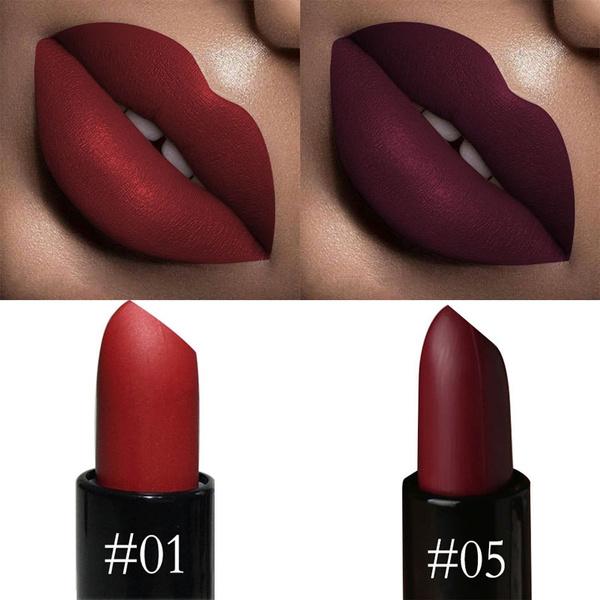 Picture of Sexy Ultra Matte Velvet Lipstick Waterproof Long Lasting Moisturizer Lipstick Makeup Kit Beauty Tools For Women Girls