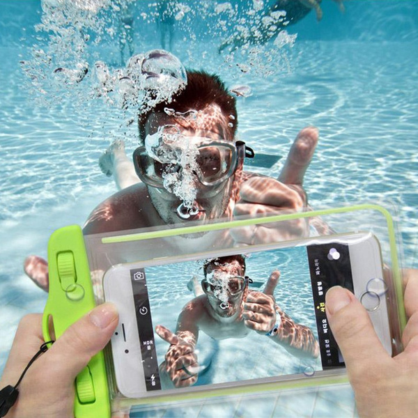 Picture of Pvc Luminous Waterproof Phone Case Cover For Iphone Water Proof Underwater Bag For Iphone6 All Mobile Phone