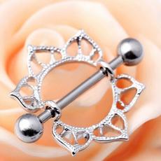 Fashion Accessory, Jewelry, flowernipplebarbell, nipplebutton