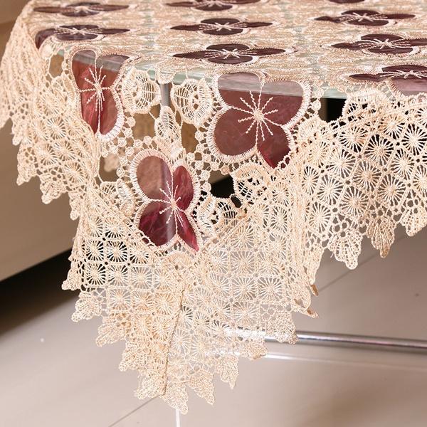Tablecloths Toalhas De Mesa Bordada Lace Tablecloth European Style