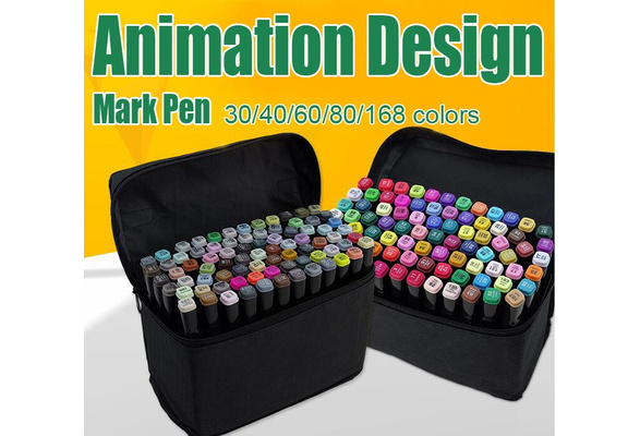 Art mark pen Alcohol Marker pen soluble pen cartoon graffiti art copic sketch markers for designers