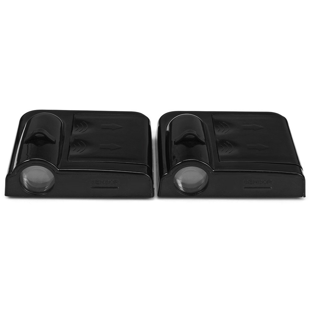 contents:1 x Pair of No Drill Type Wireless Car Door LED .