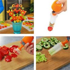 Casual Gifts Shape Cake Fruit Maker Kitchen Tool Pop Chef Food Decorator Cutter Kitchen Kit