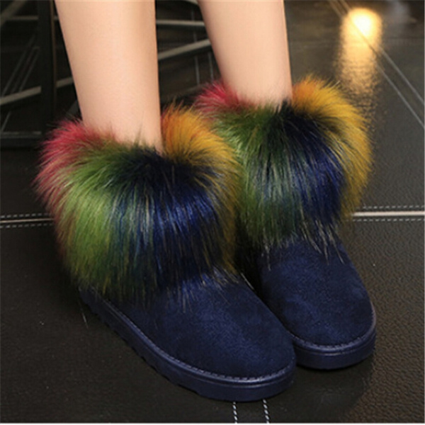 sexy foot Wild wear and booties furry
