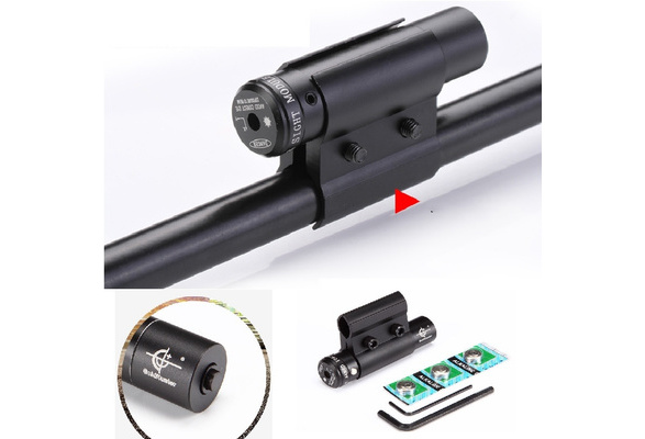 Mounting Crossbow 650nm Red Laser Sight w//QQ Scope Cliper Fit for Bow//Rifle New