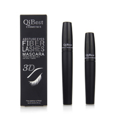 Best 3D  Fiber Lashes Mascara Set Makeup Eyelash Thick Long Lash Black