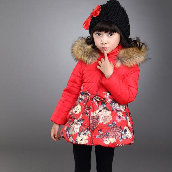5aef5c781 Girls Winter Coat Kids Winter Jackets Jacket Down Suits For Teenage ...