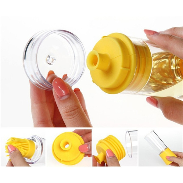 Swell Silicone Honey Oil Bottle Kitchen Tools Plastic Squeeze Bottle With Brush Cooking Bbq Tools Storage Bottles Kitchen Accessories Mgsu Co Limited Download Free Architecture Designs Embacsunscenecom