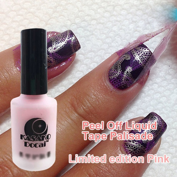 Wish | 15ml Peel Off Liquid Tape & Peel Off Base Coat Nail Art ...