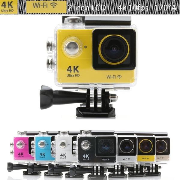 Original Eken Go pro H9 4K Ultra HD Video 170 degrees Wide Angle Sports  Camera 2inch Screen wifi 1080p 60fps action Camera For Gopro hero SJ4000