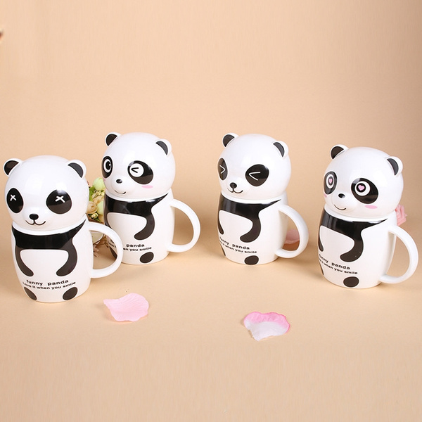 Fancy Gift Cup Cute Ceramic Anime Best Coffee Cups Panda Mugs WD9YHIeE2