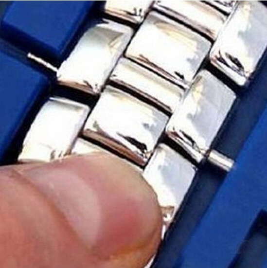 Watch Band Strap Link Remover Repair Split Tool Watches Accessories Wristwatch Watch Gadget (Color: Blue)