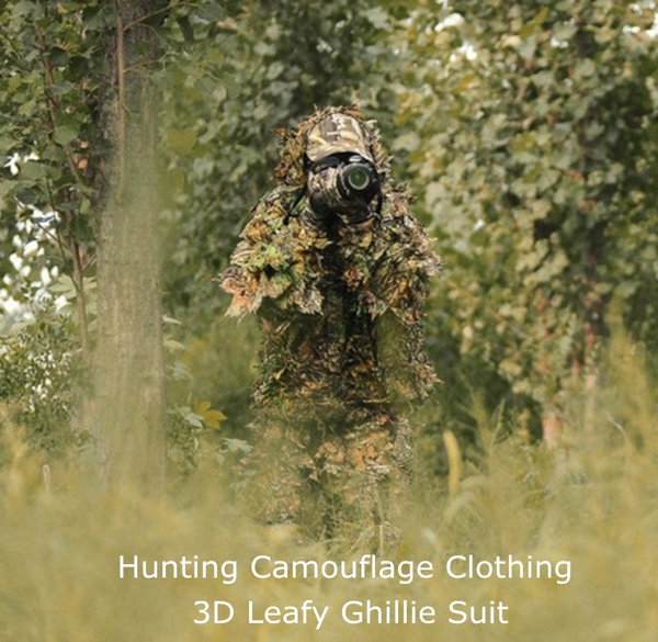 4b24e546a8780 Spring Fall Turkey Deer Season Hunting Camouflage Clothing 3D Leafy ...