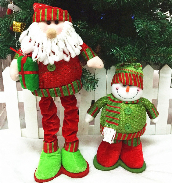 Wish 2PC Adornos Navidad Christmas Decoration For Home New Year