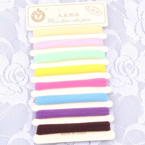 30Pcs Hair Ornaments Elastic Hair Bands Ties Rings Rubber Rope Hairbands  Headwear Hair Accessories Scrunchie Ponytail Holders fde1a4acabbe