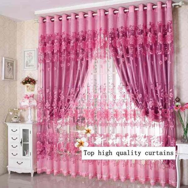 Wish | 1m*2.7m Yarn curtain Tulle Window Screens Door Balcony Shop ...