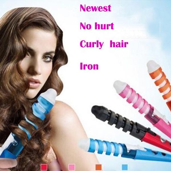 Prime Wish Magic Pro Perfect Curl Electric Ceramic Hair Curler Spiral Hairstyles For Men Maxibearus