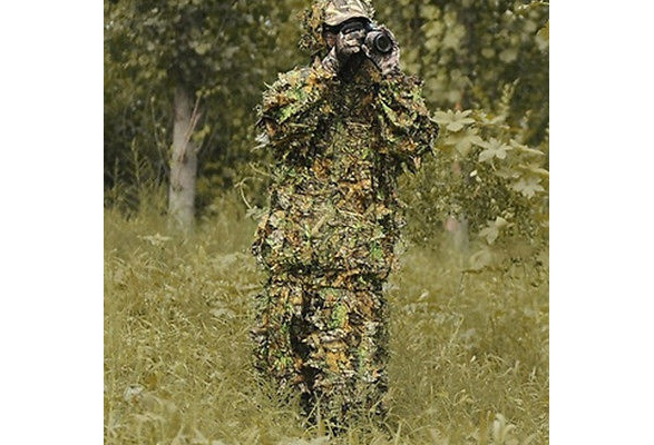 get online new appearance top brands 3D Camouflage Leaf Clothing Hunting Camo Yowie Sniper Archery Ghillie Suit  Set