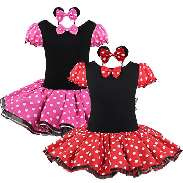 fc513b5b37083 Girls Kids Xmas Party Fancy Costume Ballet Dance Dress Tutu Polka ...