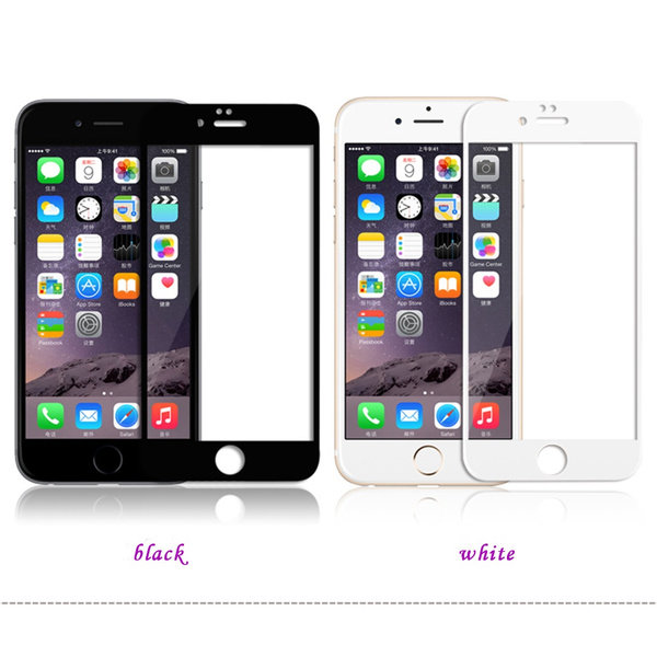 HD Full Edge Coverage Tempered Glass Film Screen Protector For iphone 6 6 Plus 7 7plus