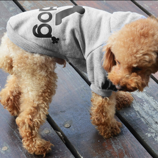 Cute Fashion Dog pet clothes spring fall winter Dog Cost Dog sport clothes Hoodie Coat cloths