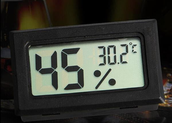 Mini, indoortemperaturehumiditymeter, thermometerhygrometer, Consumer Electronics