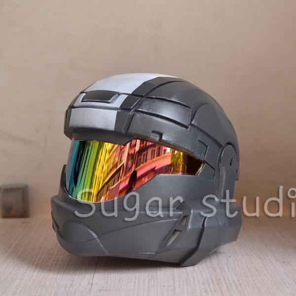Customized EVA material Halo ODST Orbital Drop Shock Troopers cosplay Armor  Helmet Head