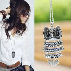 Owl, Chain Necklace, Fashion, Jewelry