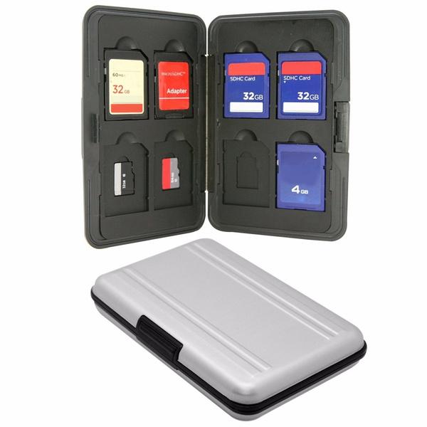 case, memorycardsdxc, memorycardcase, Aluminum