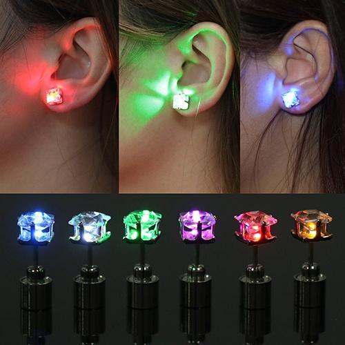 Mens Earrings, Bling, led, Jewelry