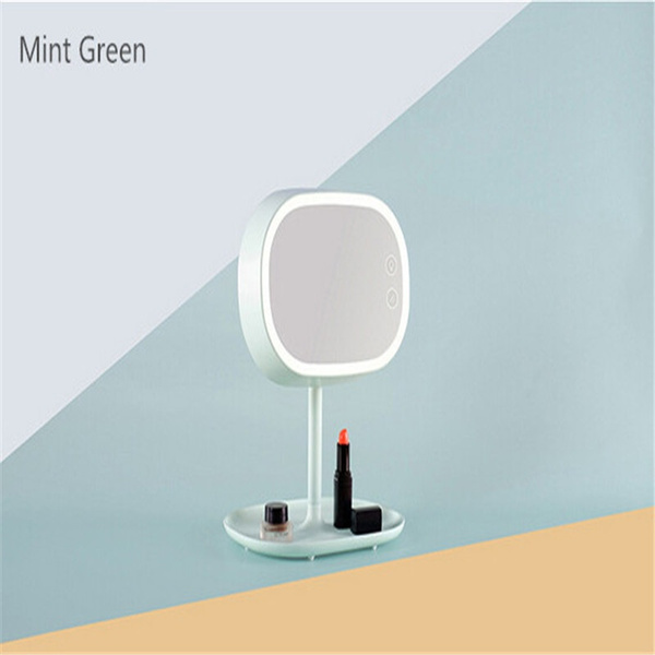 Wish smart led makeup mirror table lamps desktop cosmetic mirrors wish smart led makeup mirror table lamps desktop cosmetic mirrors light lamp dresser for bedroom bathroom aloadofball