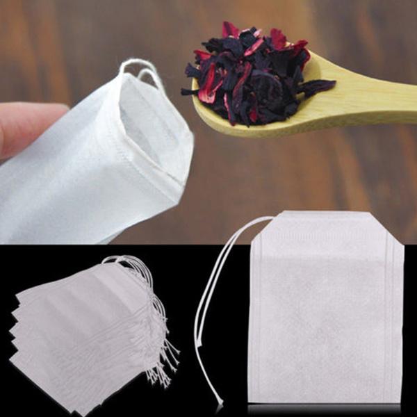 paperherblooseteabag, Bags, Tea, teastrainer