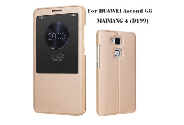 huawei sensa. wish | huawei ascend g8 phone cases \u0026 flip leather case intelligent window back cover for huawei d199 (maimang 4) sensa