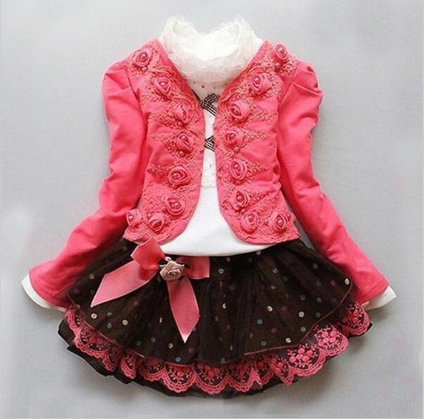 Children, Fashion, Lace, kidsprincessdres