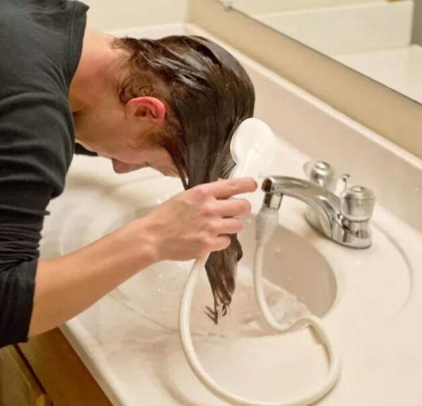 Wish | Shower Head Hose Dog Bath Hair Grooming Faucet Taps Kitchen ...