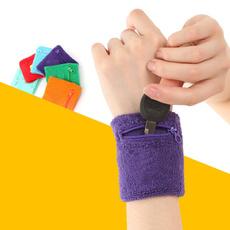 Outdoor Running Cycling Wrist Band Wallet Safe Storage Wallet Zipper Wrist Ankle Wrap Sport Strap Bracers Wrister F