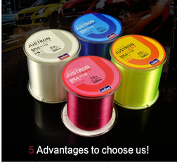 500m Nylon 4 Colors All Sizes Good Quanlity&Strong Monofilament Fishing Line Wearproof Fishlines