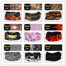 Assorted Seamless Outdoor Sport Bandanna Headwrap Scarf Wrap Bandana, Neck Gaiter cycling