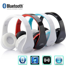 Headset, Stereo, Earphone, Foldable