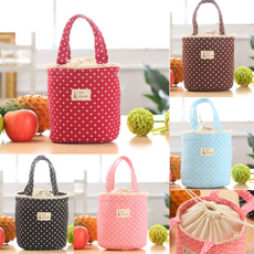 Home Thermal Insulated Lunch Box Cooler Bag Tote Bento Pouch Lunch Container